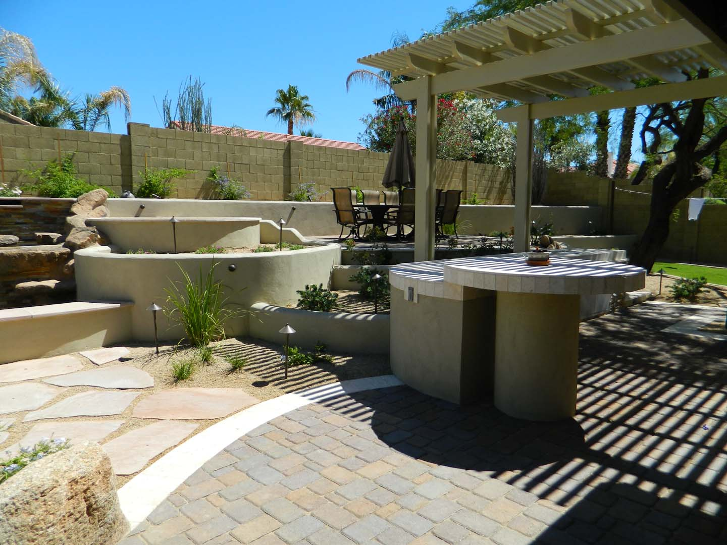 outdoor kitchens phoenix masterscapes llc
